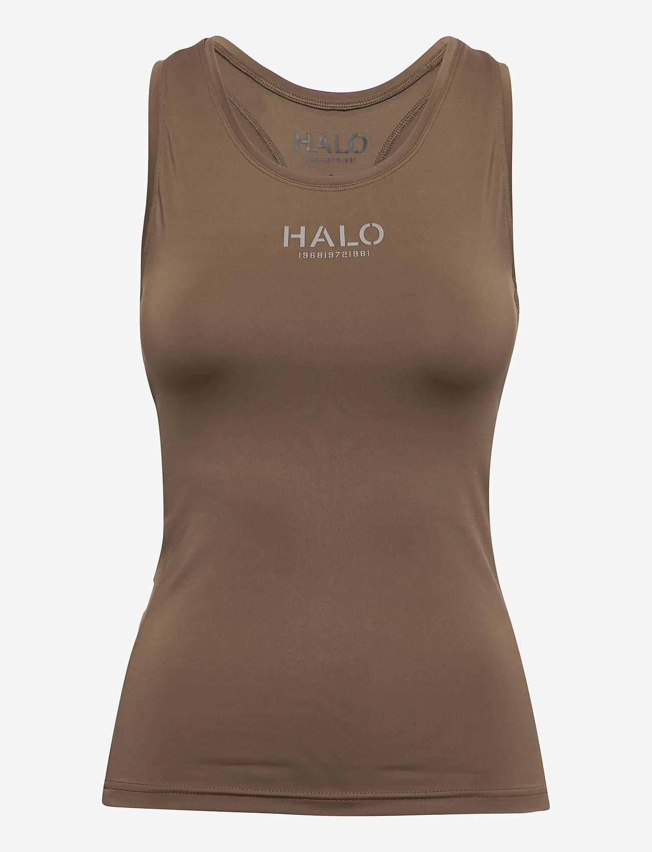HALO - HALO WOMENS RACERBACK TANK - sleeveless tops - vintage brown - 0