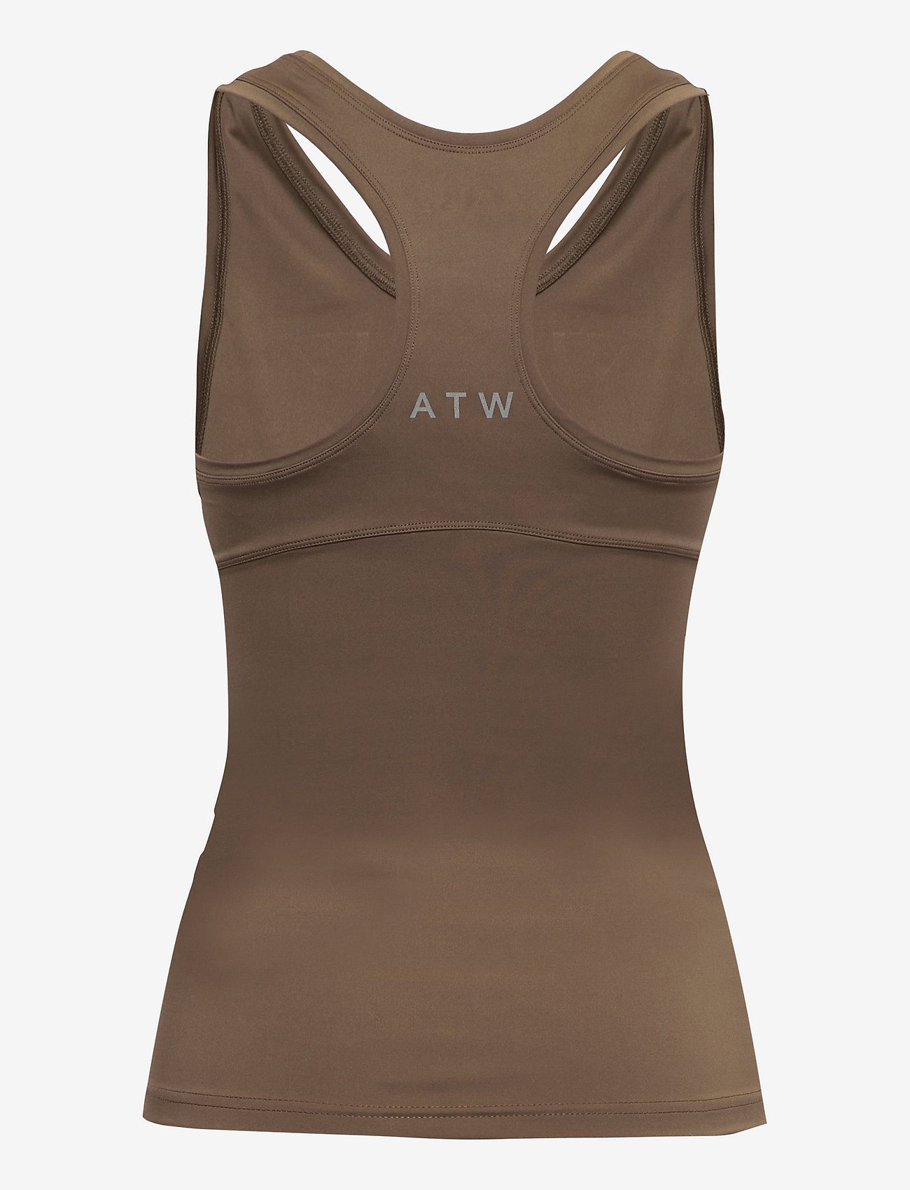 HALO - HALO WOMENS RACERBACK TANK - sleeveless tops - vintage brown - 1