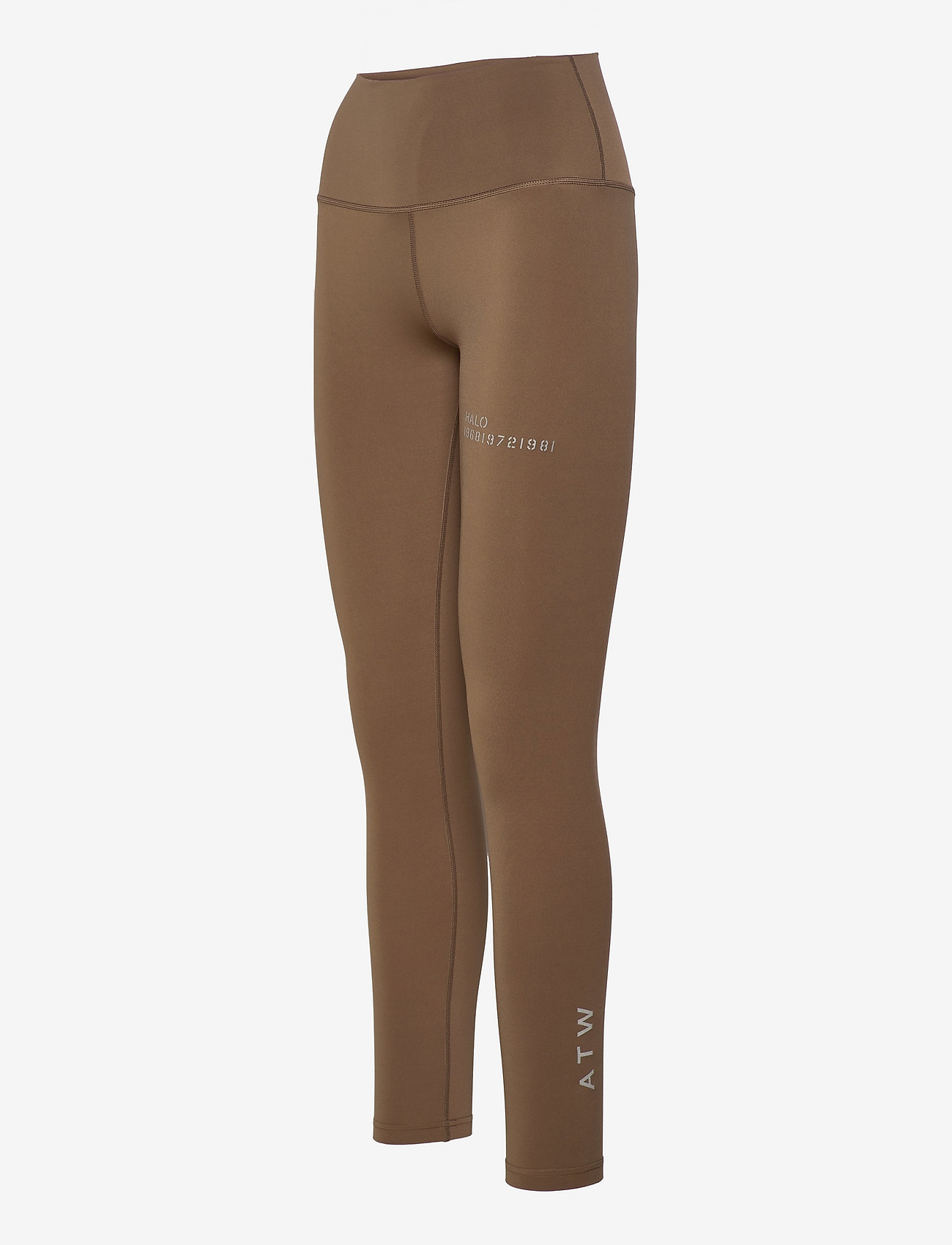 HALO - HALO WOMENS HIGHRISE TIGHTS - tights & shorts - vintage brown - 3