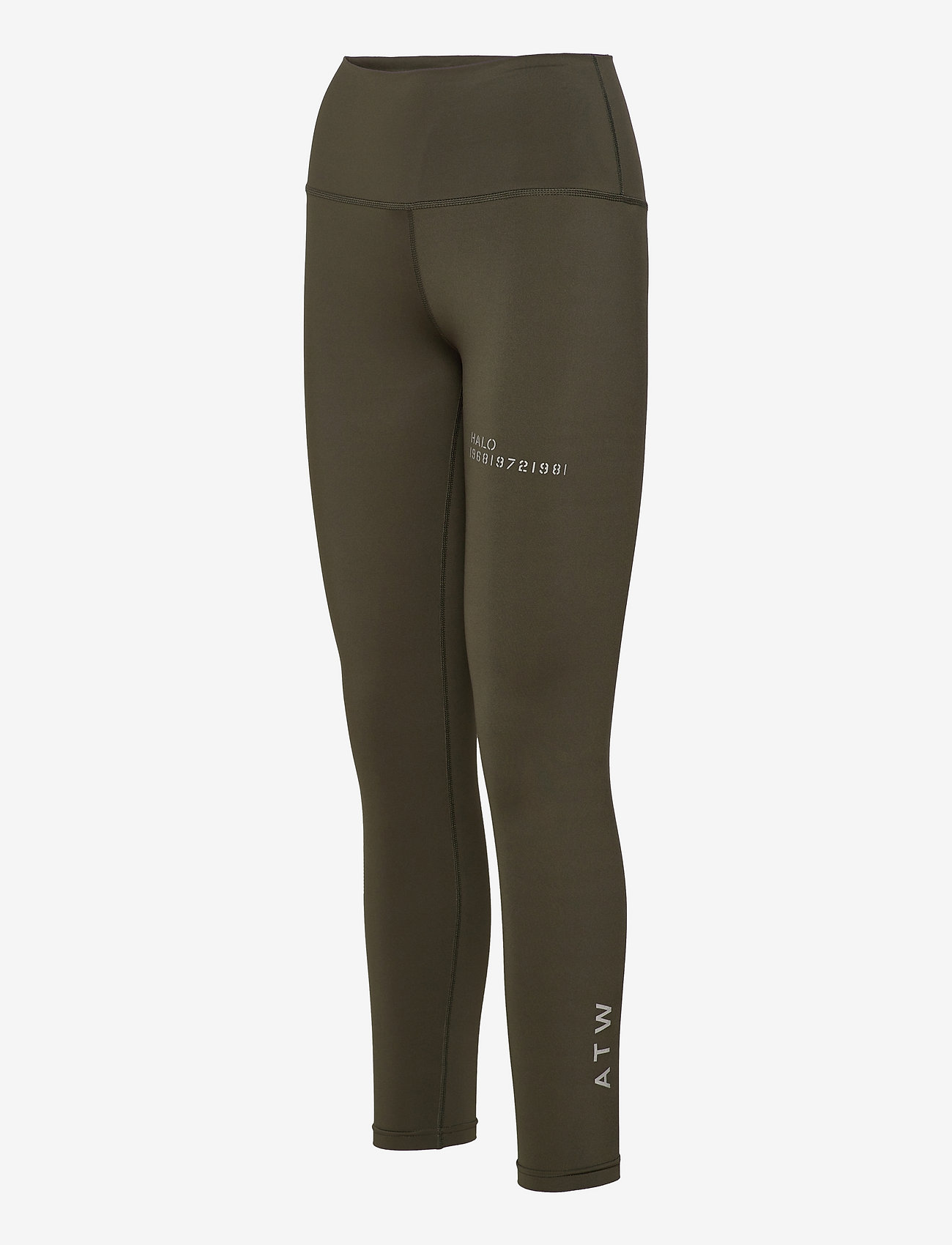 HALO - HALO WOMENS HIGHRISE TIGHTS - tights & shorts - winter moss - 2