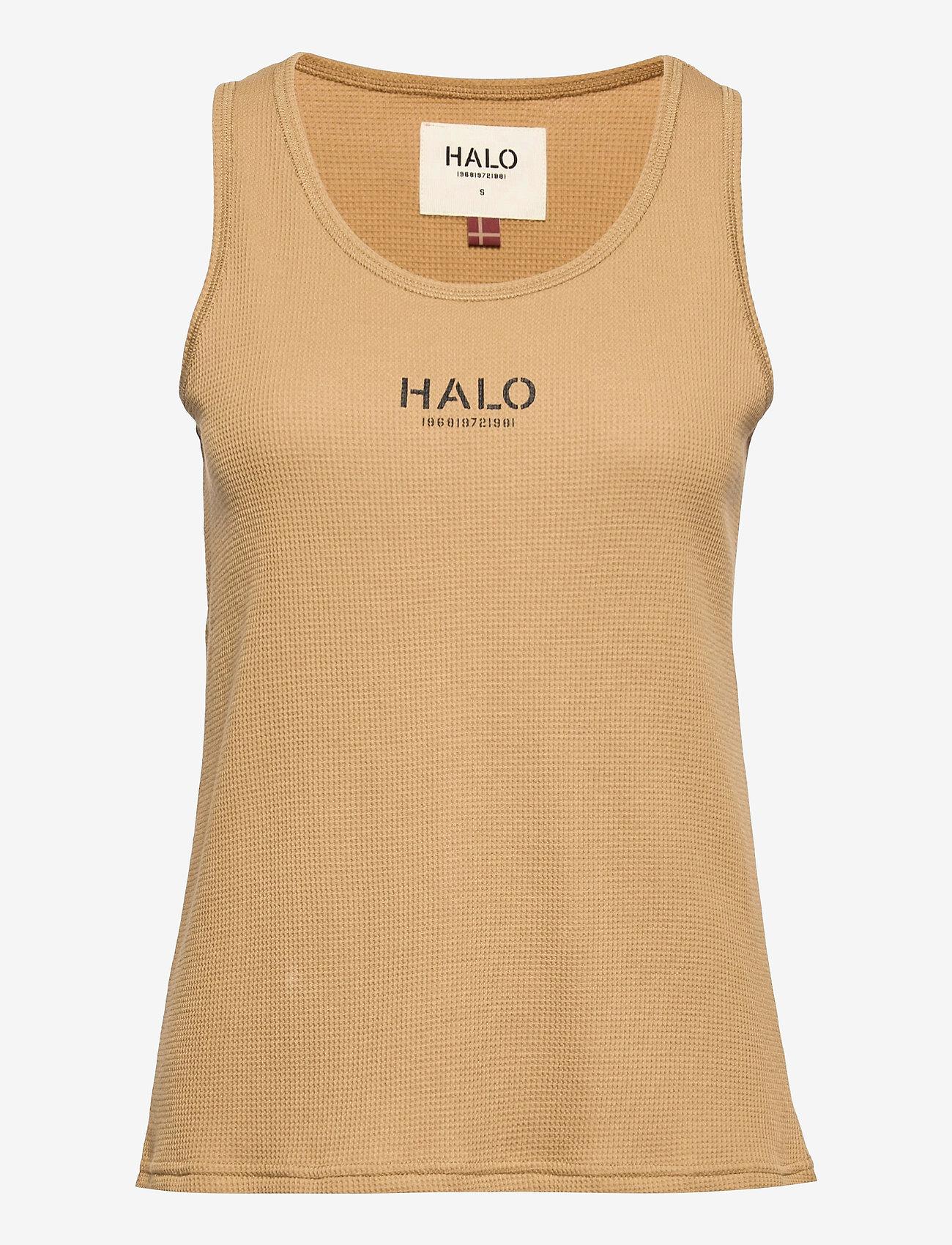 HALO - HALO WOMENS WAFFLE TANK - Ärmellose tops - kelp - 1