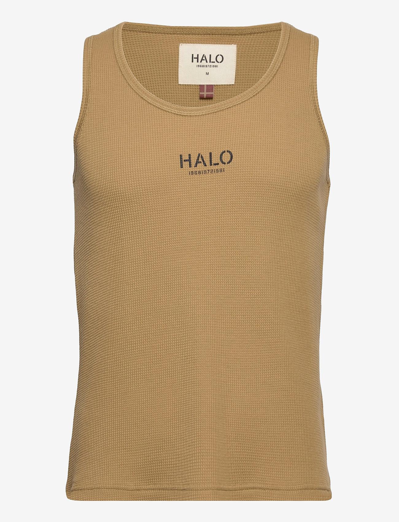 HALO - HALO WOMENS WAFFLE TANK - Ärmellose tops - kelp - 0