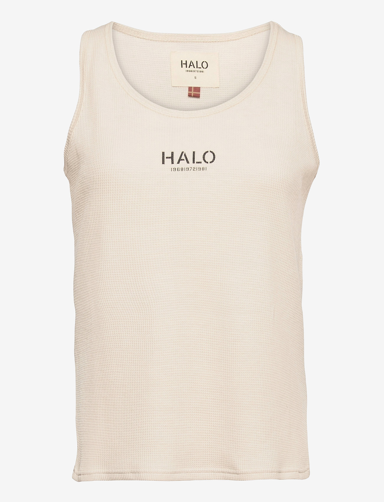 HALO - HALO WOMENS WAFFLE TANK - Ärmellose tops - pumice stone - 0