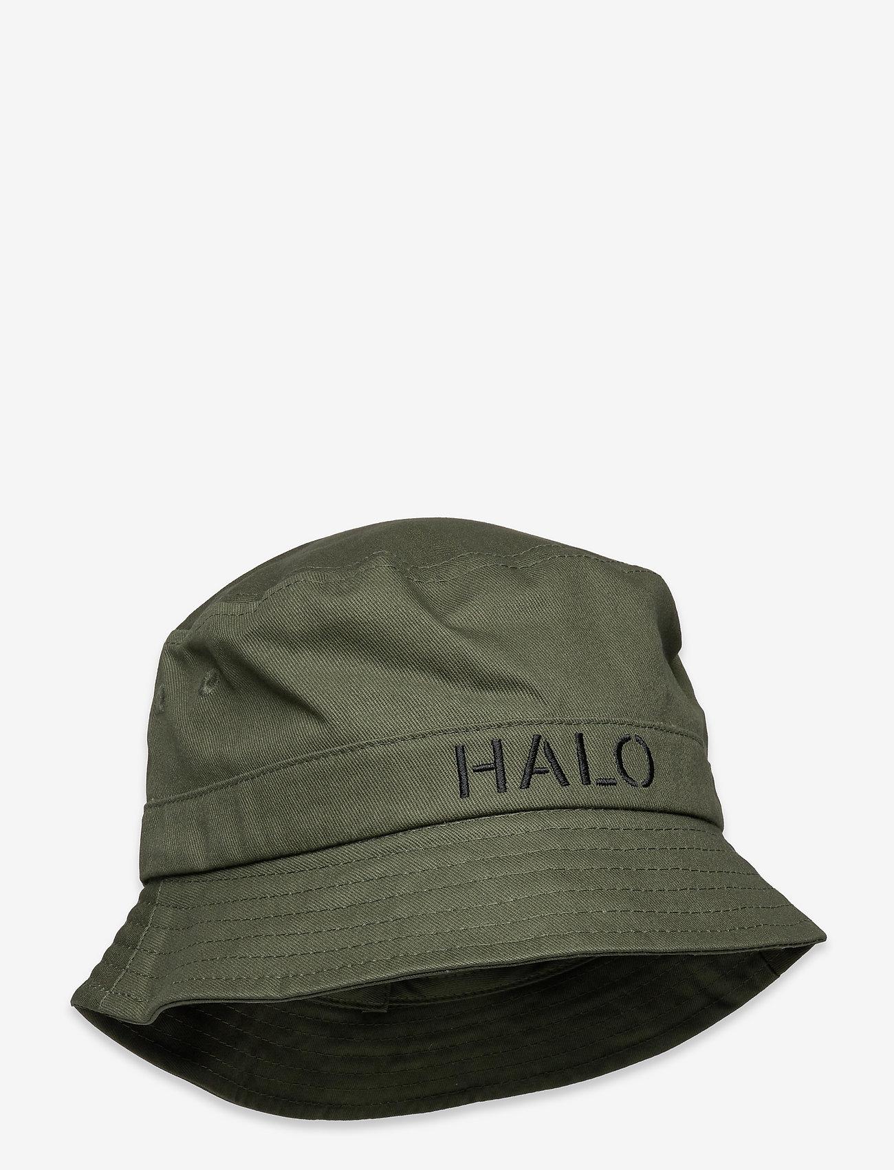 HALO - HALO Bucket Hat - bucket hats - dark army/yellow - 0