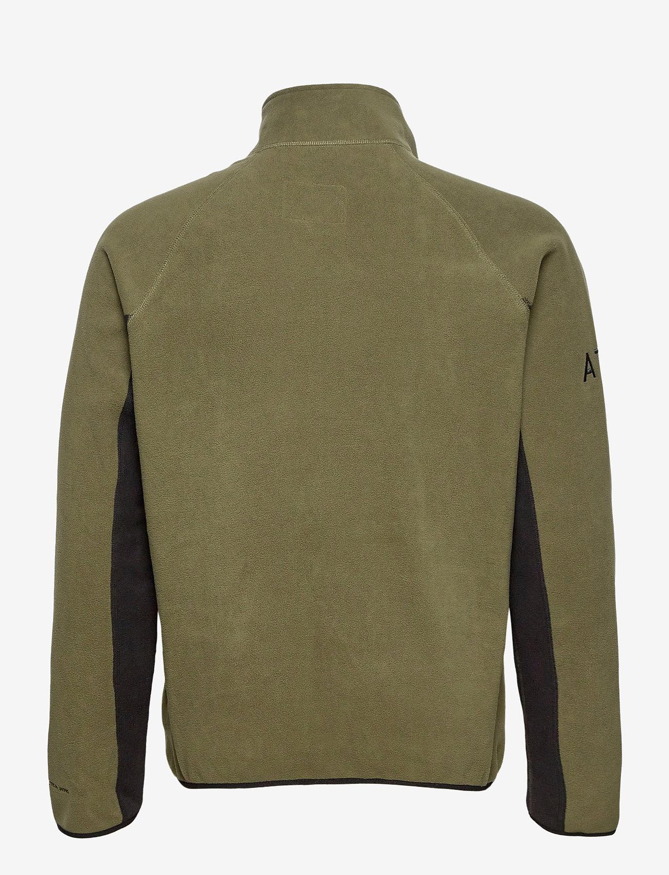 HALO - HALO ATW Zip Fleece - basic-sweatshirts - olive night - 1