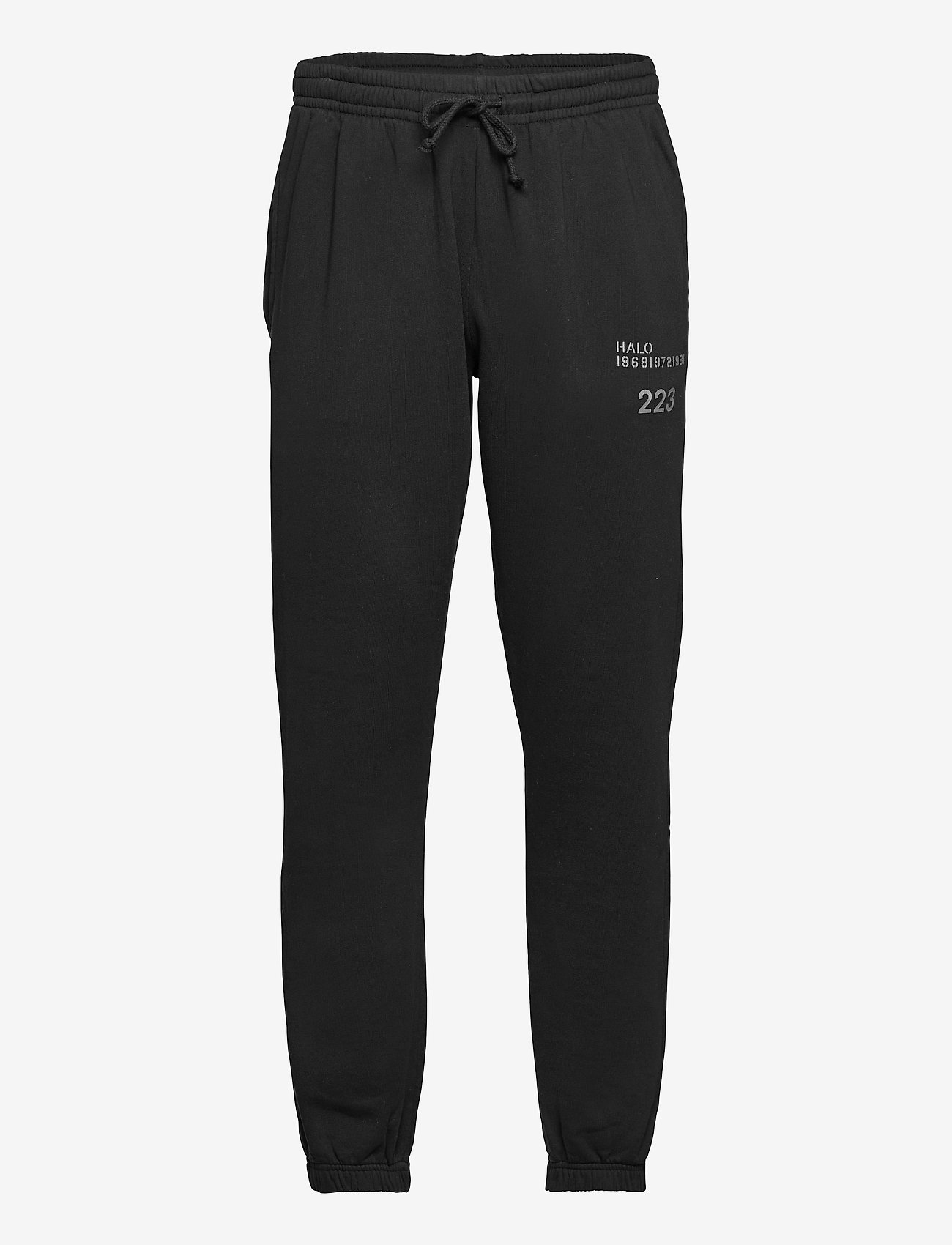 HALO - HALO COTTON SWEATPANT - treenihousut - black - 0