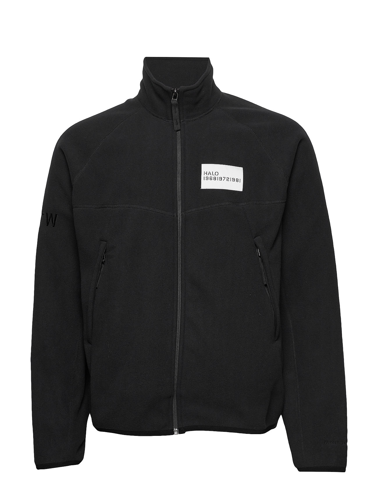 HALO HALO ATW Zip Fleece - BLACK