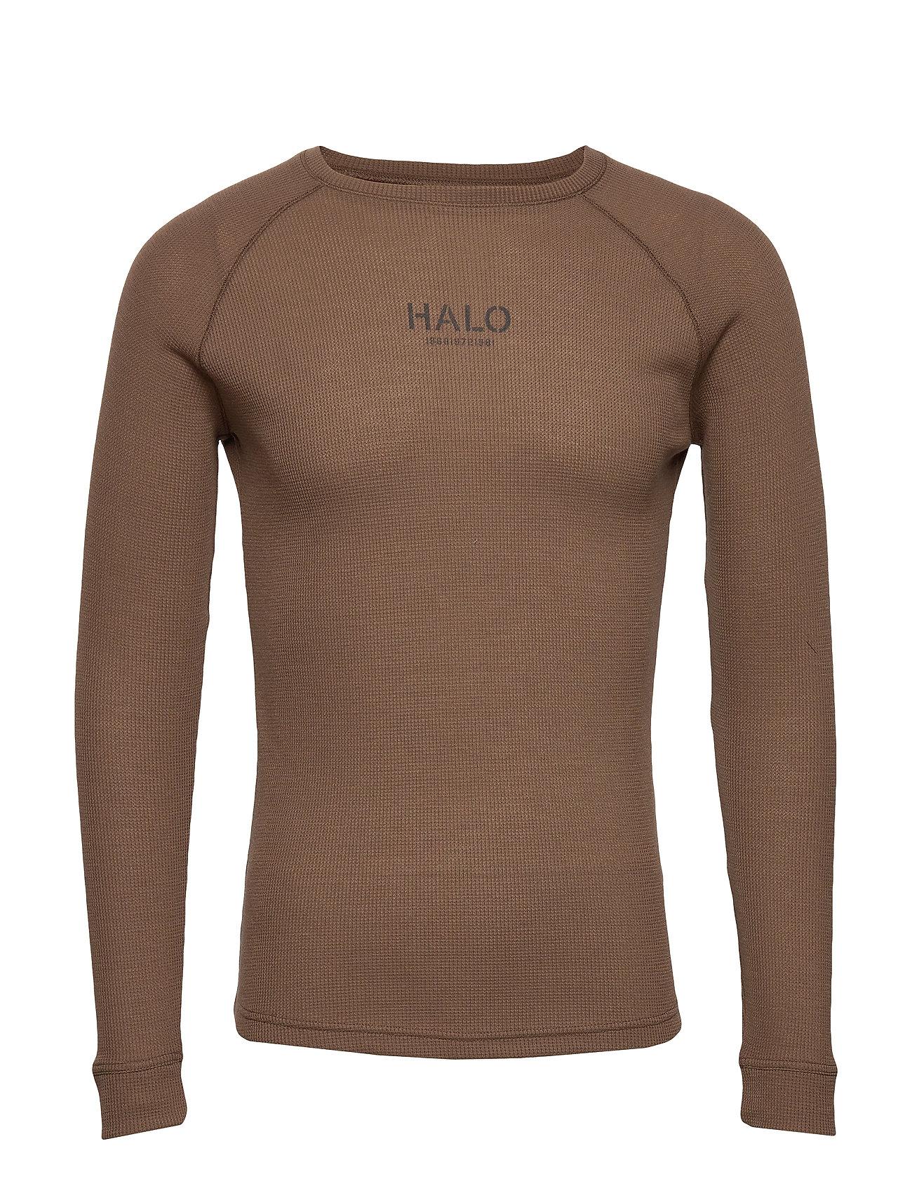 Halo Military Long Sleeve T-Langærmet Skjorte Brun HALO