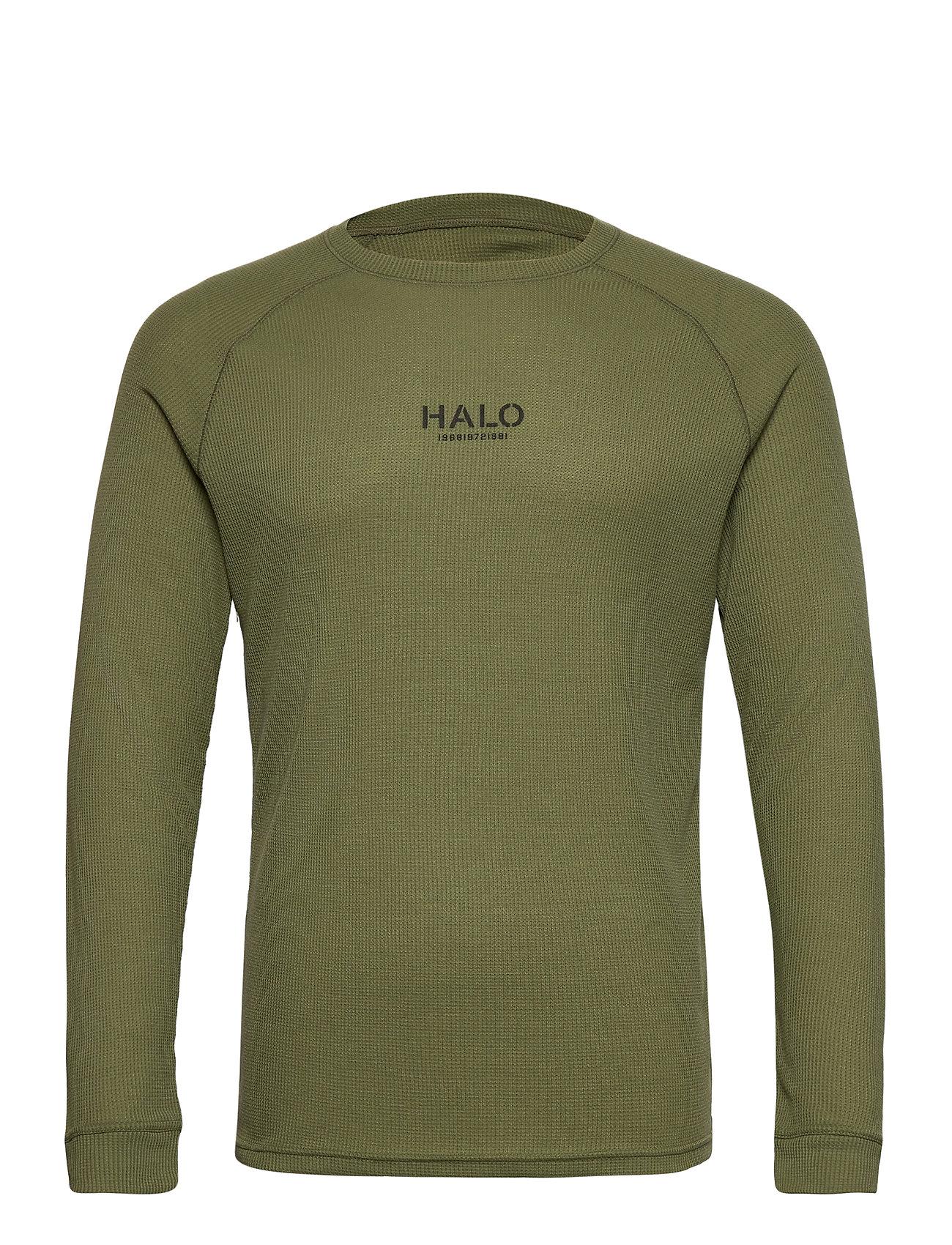Halo Military Long Sleeve T-Langærmet Skjorte Grøn HALO