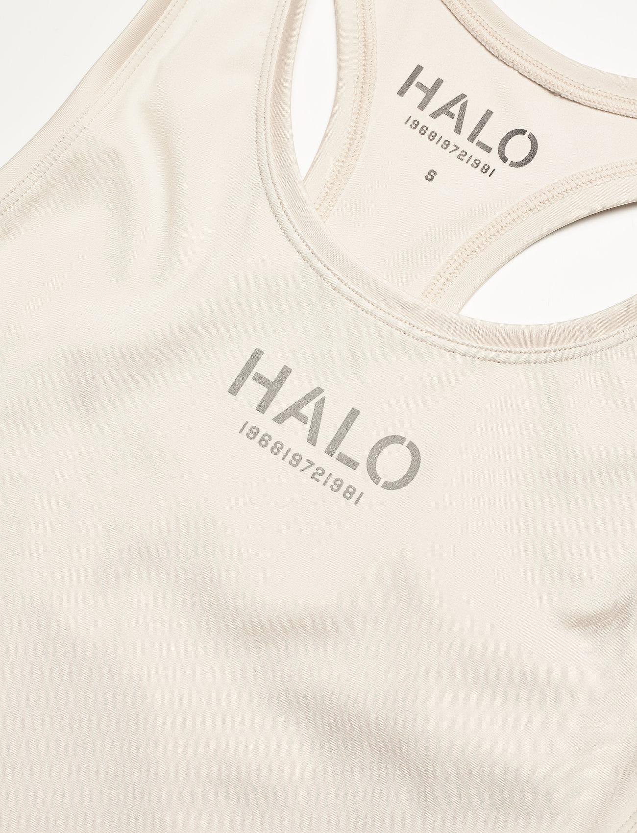 HALO - HALO WOMENS RACERBACK TANK - toppar & t-shirts - pumice stone - 3