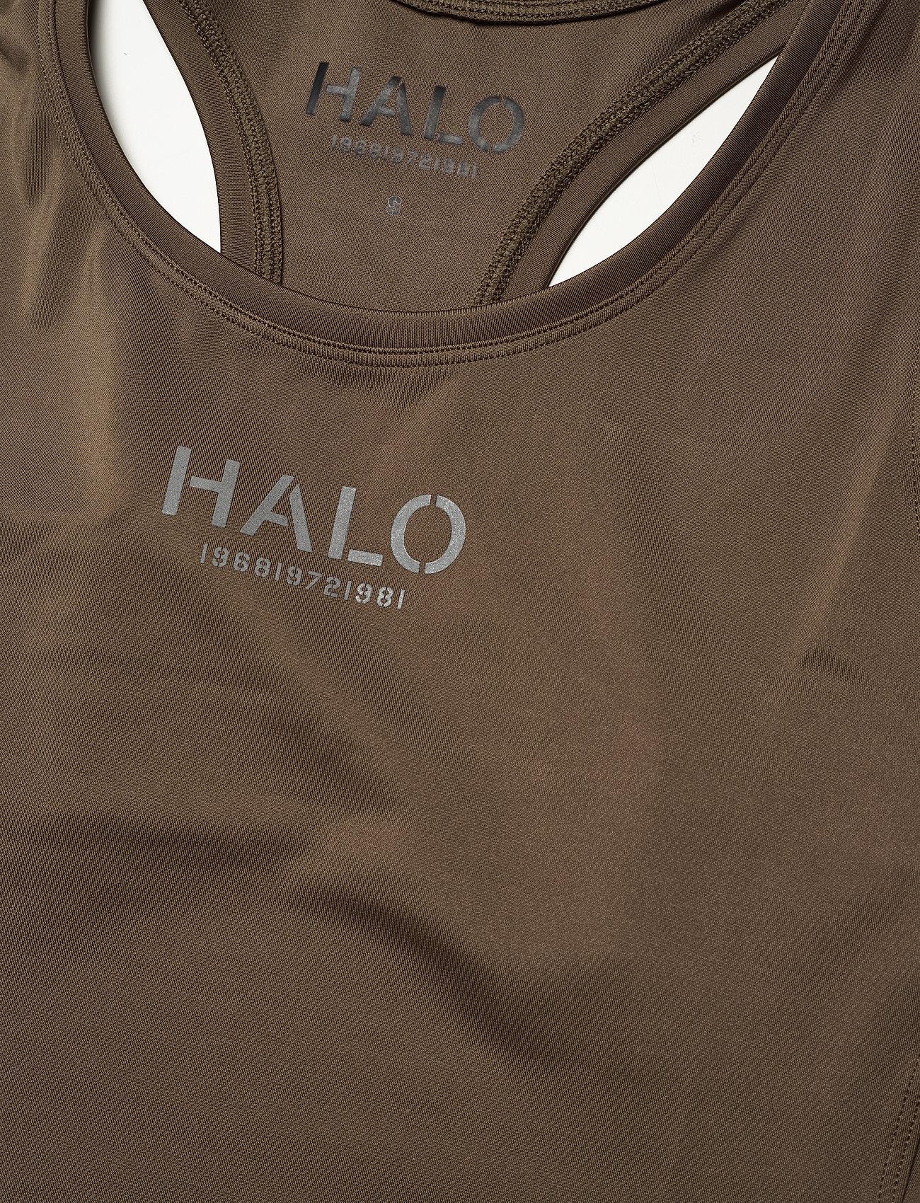 HALO - HALO WOMENS RACERBACK TANK - sleeveless tops - vintage brown - 2