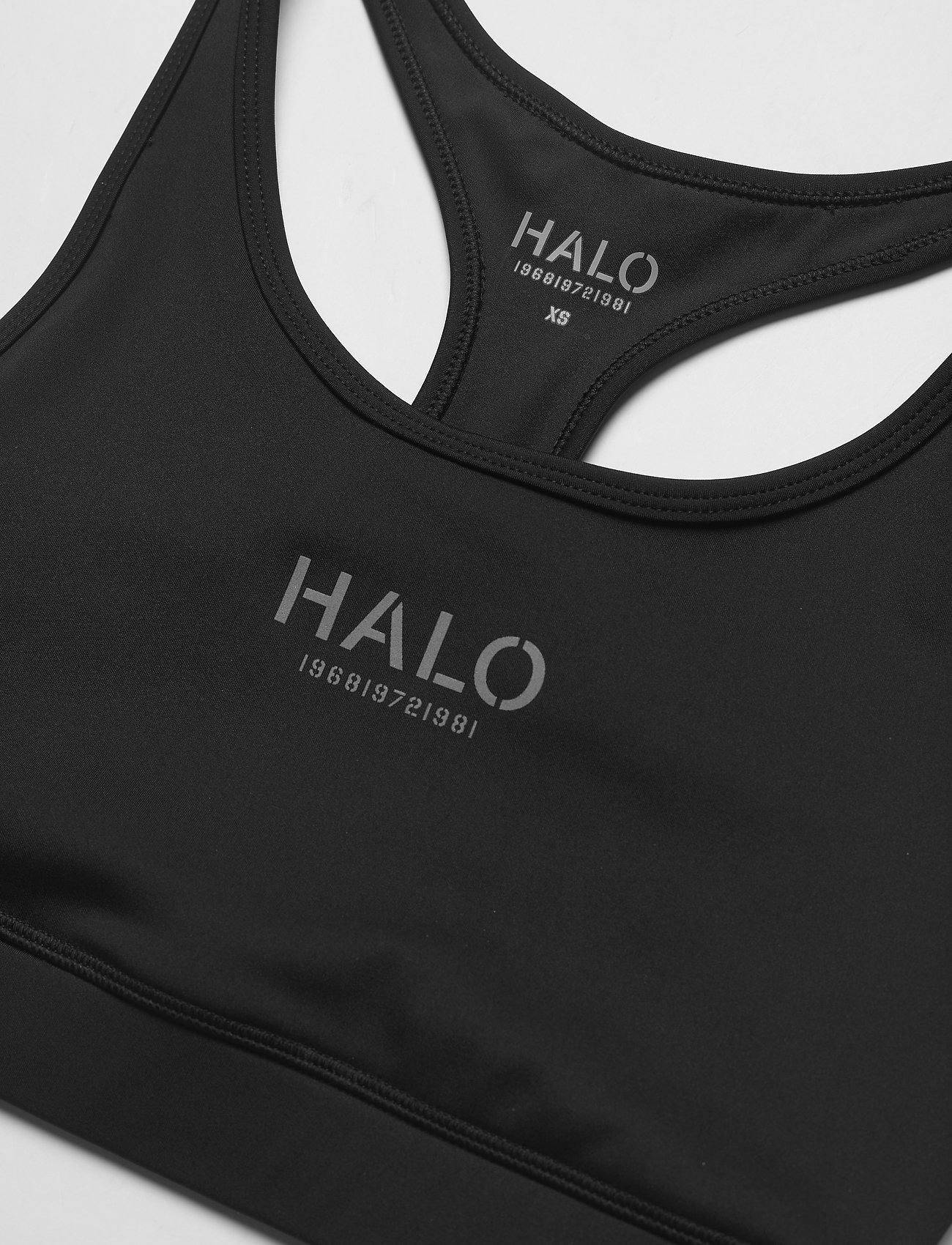 HALO - HALO WOMENS BRATOP - sport-bh: hög support - black - 2