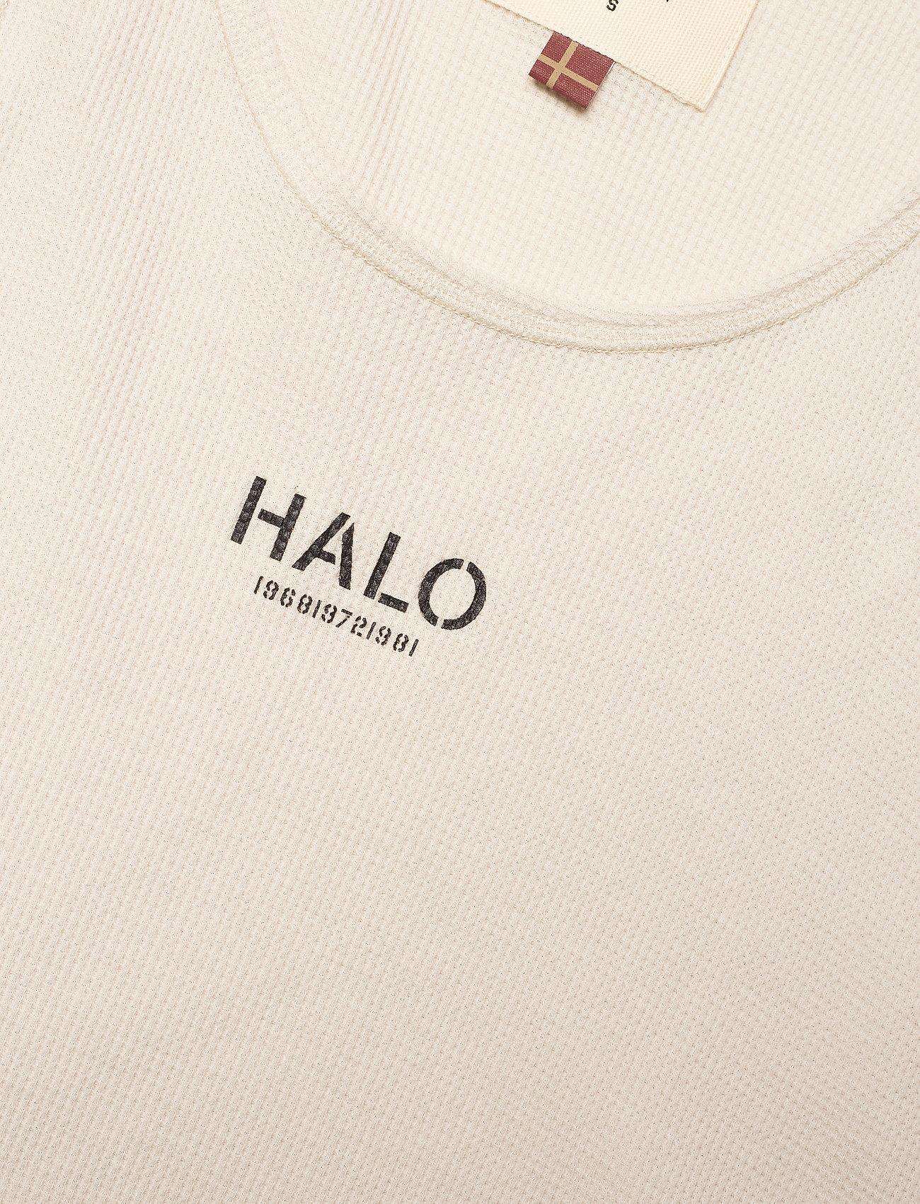 HALO - HALO WOMENS WAFFLE TANK - ermeløse topper - pumice stone - 2