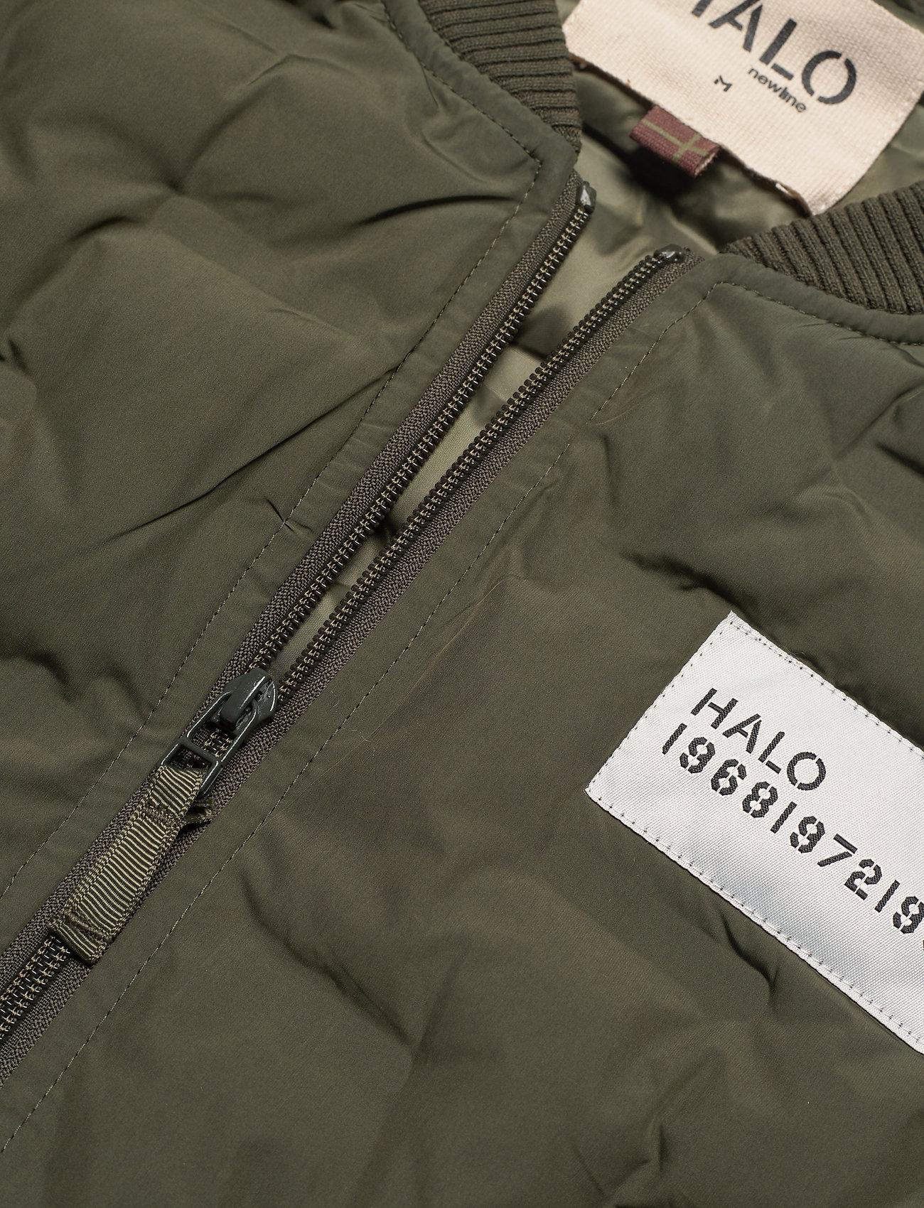 Halo Quilted Gilet - Jackor & Rockar Olivine