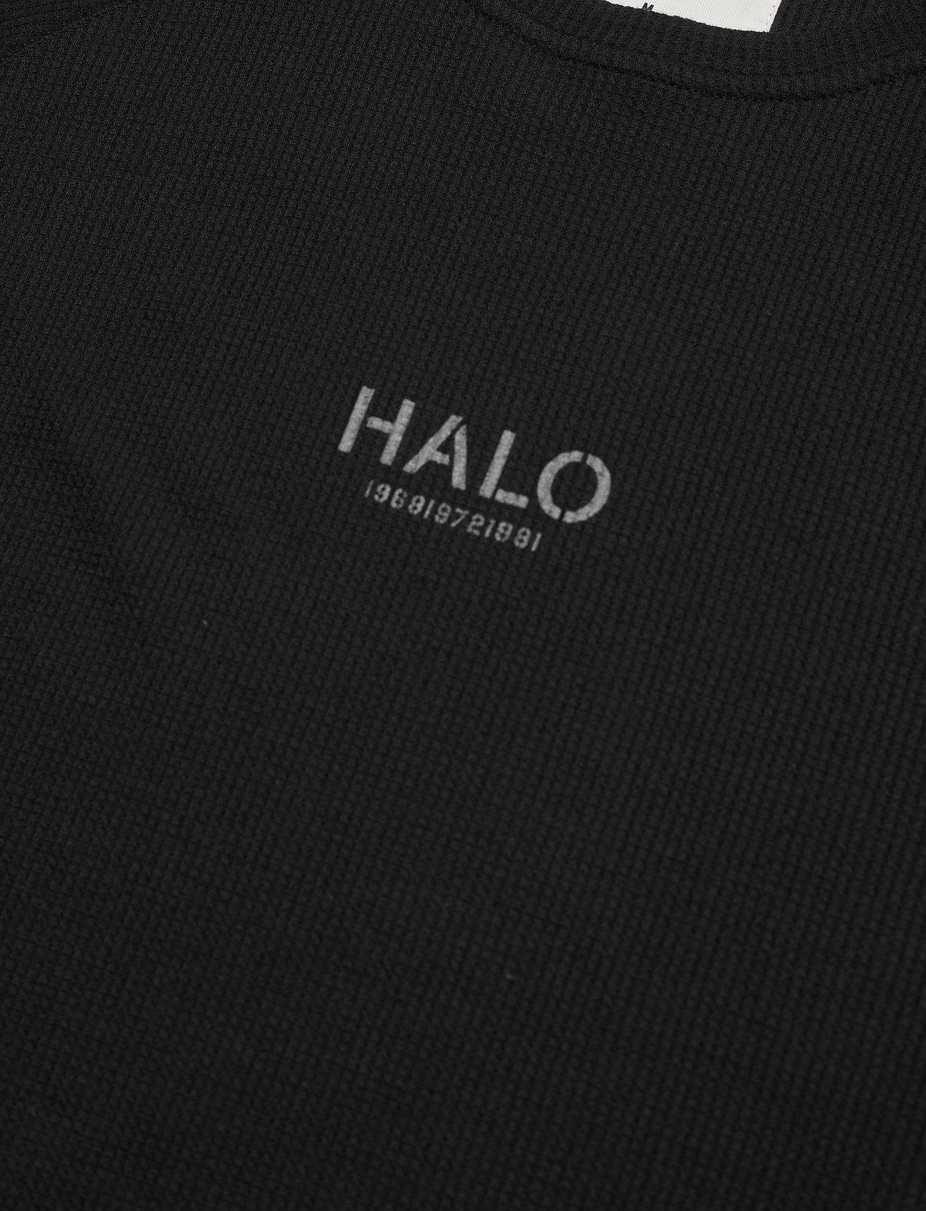 HALO HALO Waffle Tee - T-skjorter BLACK - Menn Klær