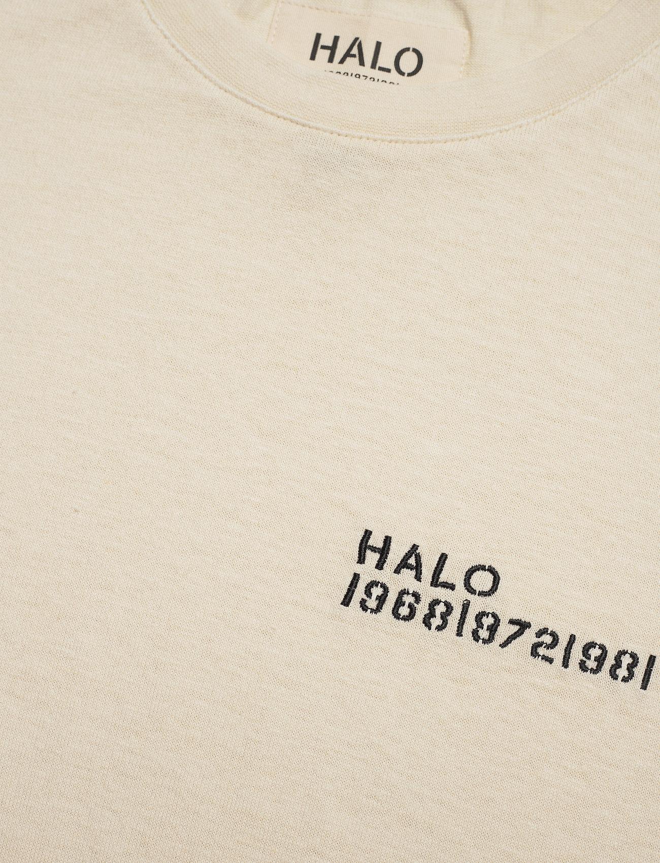 HALO HALO Hemp Tee - T-skjorter BONE WHITE - Menn Klær