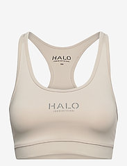 HALO - HALO WOMENS BRATOP - sort bras:high - pumice stone - 1