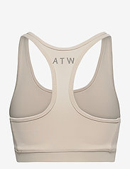 HALO - HALO WOMENS BRATOP - sort bras:high - pumice stone - 2