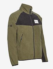 HALO - HALO ATW Zip Fleece - basic-sweatshirts - olive night - 2