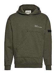Halo Cotton Hoodie - MILLI GREEN