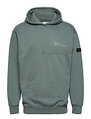 Halo Cotton Hoodie - WASHED GREEN