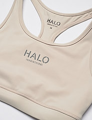 HALO - HALO WOMENS BRATOP - sort bras:high - pumice stone - 4