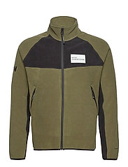 HALO ATW Zip Fleece - OLIVE NIGHT