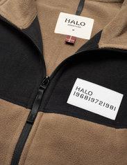 HALO - HALO ATW Zip Fleece - swetry pluszowe - vintage brown - 4