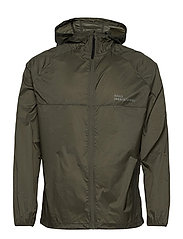 HALO Packable Jacket - OIL GREEN