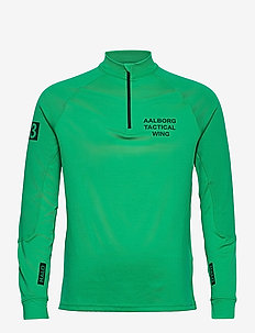 HALO Tech Zip Shirt - DEEP GREEN
