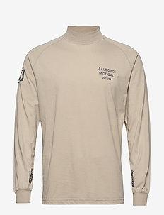 HALO Logo Training Shirt - langärmelig - pure cashmere