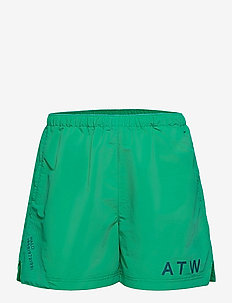 HALO ATW Nylon Shorts - uimashortsit - deep green