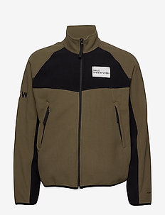 HALO ATW Zip Fleece - CANTEEN/BLACK