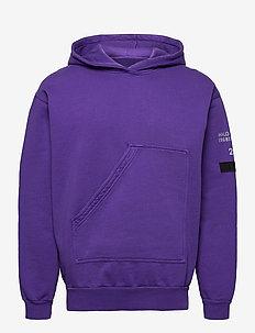 HALO Cotton Hoodie - perus-college-paitoja - purple