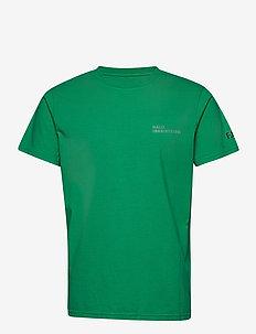 HALO Cotton Tee - basis-t-skjorter - deep green