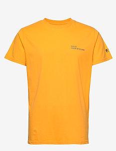 HALO Cotton Tee - basic t-shirts - gold fusion