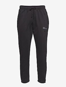HALO Cotton Sweat Pants - BLACK/VINTAGE GREEN