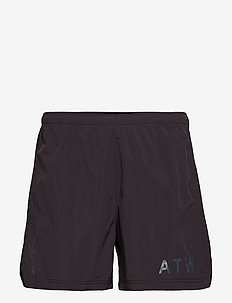 HALO Nylon Shorts - BLACK