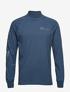 Halo Logo Training Shirt - BLUE PETROL