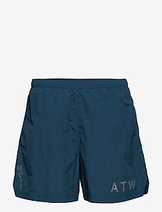 Halo Nylon Shorts - DARK PETROL