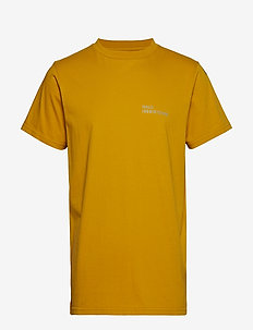 Halo Cotton Tee - MUSTARD