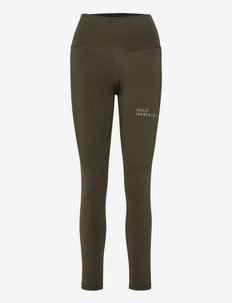 HALO WOMENS HIGHRISE TIGHTS - collants et shorts - winter moss