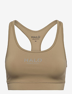HALO WOMENS BRATOP - sort bras:high - kelp