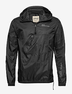 HALO Hooded Cagoule - BLACK