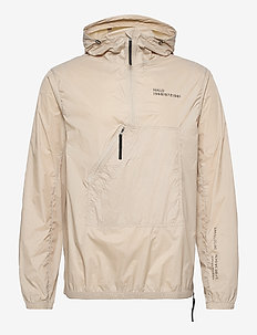 HALO Hooded Cagoule - anoraks - pure cashmere