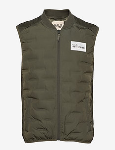 HALO Quilted Gilet - OLIVINE