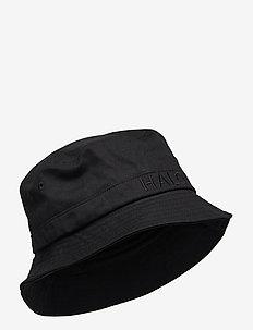 HALO Bucket Hat - emmer hoeden - black