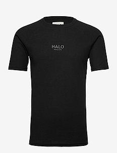 HALO Waffle Tee - t-shirts - black