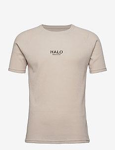 HALO Waffle Tee - t-shirts - winter white