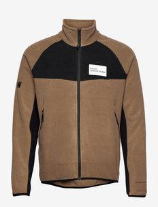 HALO ATW Zip Fleece - bluzy i bluzy z kapturem - vintage brown